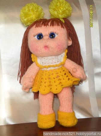 Кукла-пупс Машенька ручной работы ручной работы на заказ