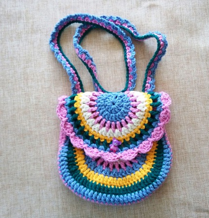Сумочка для девочки Весна ручной работы на заказ