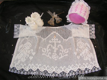 Мастер-класс по вязанию крестильной рубашечки ручной работы на заказ