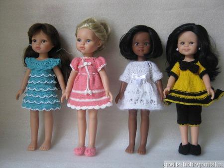 Куклы Paola Reina и одежда для них ручной работы на заказ