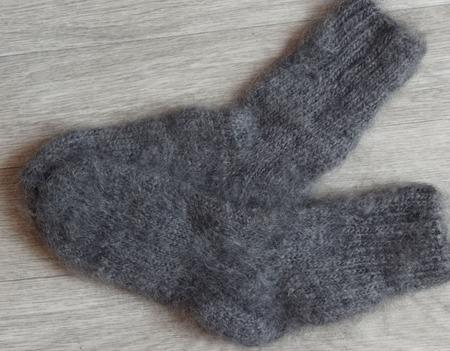 Недорогие пуховые носки (козий пух) ручной работы на заказ