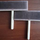 Ручные чёски для расчёсывания козьего пуха и шерсти