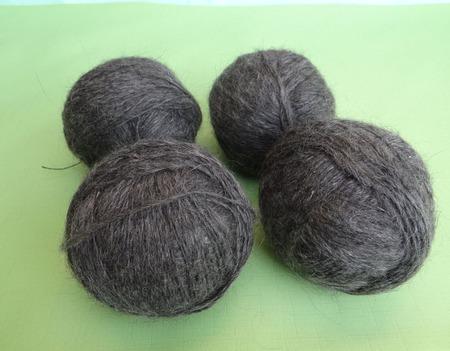 Пуховая пряжа ручного прядения -козий пух с коз придонской породы М1. ручной работы на заказ