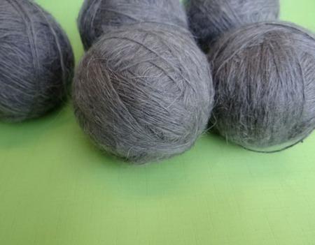Пуховая пряжа ручного прядения -козий пух с коз придонской породы ВЗ2. ручной работы на заказ