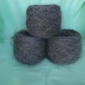 Пуховая пряжа- для вязания варежек,носков,безрукавок Е1.