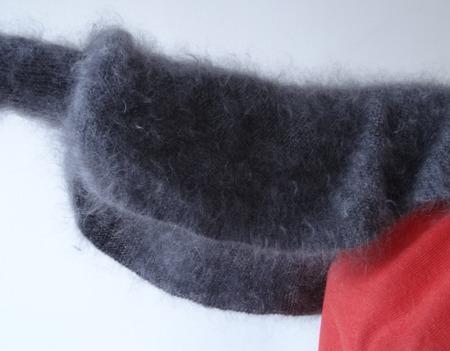 Пуховая шаль-накидка или болеро-шраг . ручной работы на заказ