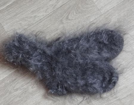 Носки пуховые вязанные,тёплые. ручной работы на заказ