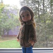 Одежда для паолочек -вязаное пальто
