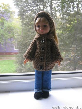Одежда для паолочек -вязаное пальто ручной работы на заказ