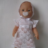 Нарядное платье (комплект) для куклы Baby Born, Бэби Долл