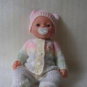 Вязаный комплект для куклы Baby Born, Бэби Долл