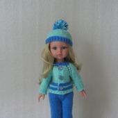 Комплект для куклы Паола Рейна (Paola Reina) вязаный