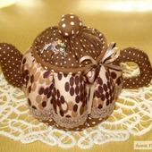 """Текстильный чайник """"Любителям кофе"""""""