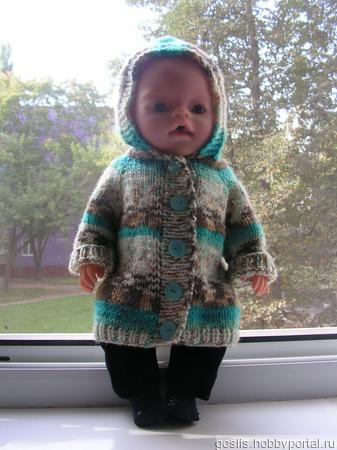 Пальто для кукол Baby Born (Беби Борн), Беби Долл, Беби Анабель, ручной работы на заказ