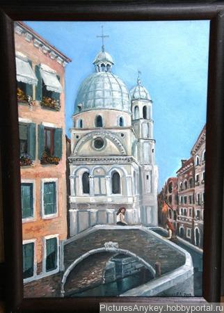 Венеция. Санта Мария Мираколи ручной работы на заказ