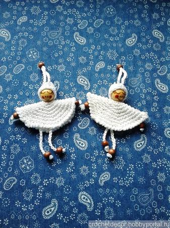 Вязаные ангелы ручной работы на заказ