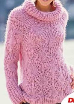 Длинный свитер ручной работы на заказ
