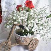 Кашпо для цветов - ВЕЛОСИПЕД