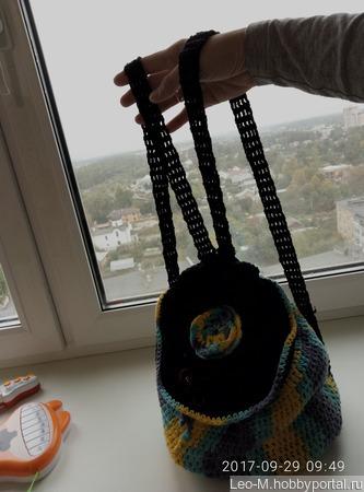 Рюкзак молодежный ручной работы на заказ