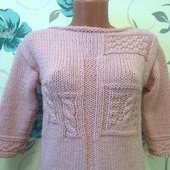 Вязаный свитер Hyacinth