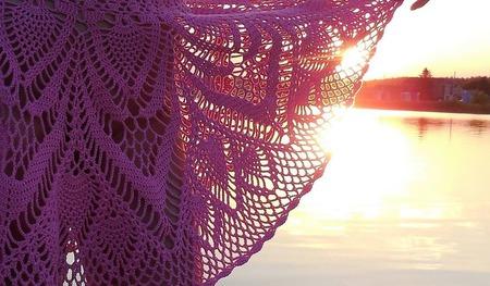Ажурная юбка-солнце Авторская работа ручной работы на заказ