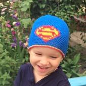 "Шапочка для мальчика ""Супермен"""
