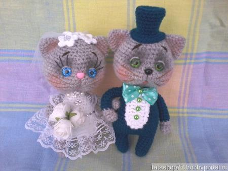 Свадебные котики ручной работы на заказ