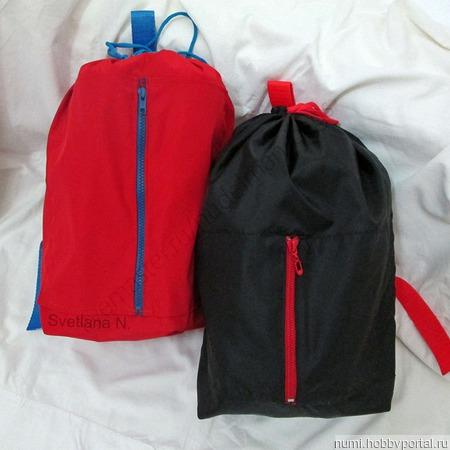 Рюкзак для спортивной формы (для прогулок) ручной работы на заказ