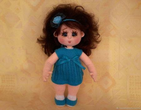 Куколка  Адель ручной работы на заказ