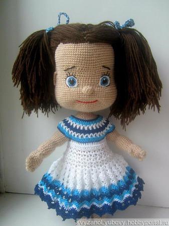 Кукла Иришка ручной работы на заказ