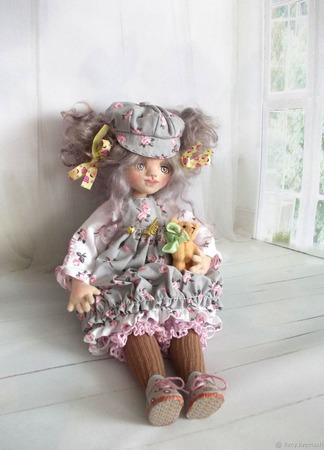 """Иришка. Кукла авторская. Из серии """"Натусики"""". ручной работы на заказ"""