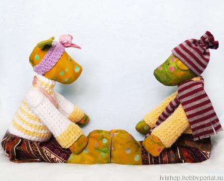 Влюбленная пара, влюбленные собачки. Подарок на день Влюбленных! ручной работы на заказ
