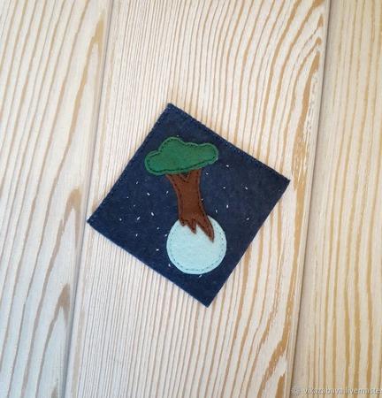 Фетровые закладки-уголки для книг ручной работы на заказ
