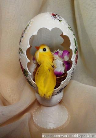 Яйцо интерьерное ручной работы на заказ