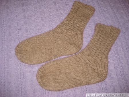 Носки из верблюжьей шерсти ручной работы на заказ