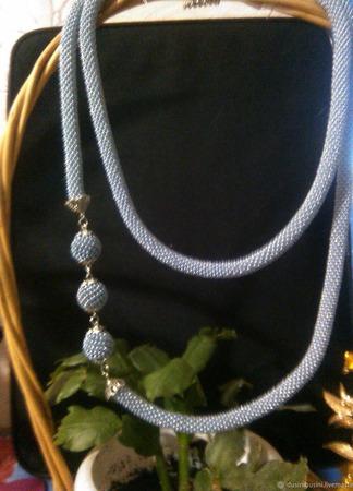 Ожерелье Жгутик ручной работы на заказ