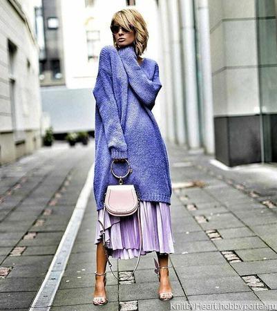 Длинное вязаное платье ручной работы ручной работы на заказ