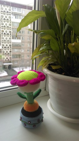 Декоративный цветочек! ручной работы на заказ