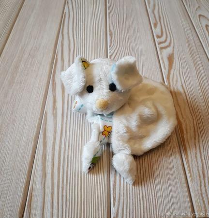 Комфортер щенок Тошка ручной работы на заказ