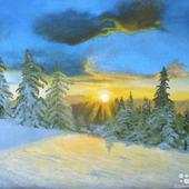 """Картина """"Зимушка зима"""""""