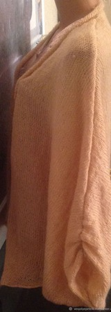 Жакет с рукавами летучая мышь ручной работы на заказ