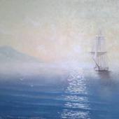 "Картина ""Восход на море"""