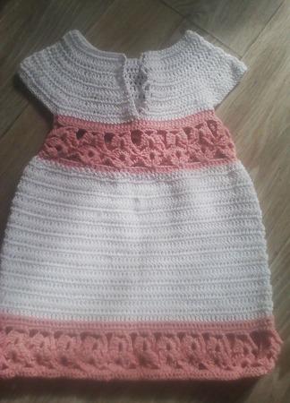 Детское хлопковое платье ручной работы на заказ