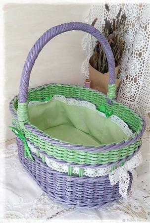 Набор плетеных корзин ручной работы на заказ
