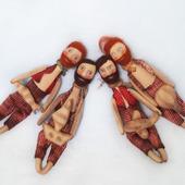 Текстильная ароматизированная кукла Мужчина с бородой и с мечтой!