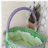 Корзина плетеная для хранения