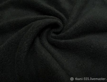 ФЛИС Полартек 390гм черный(100%полиэстер)150см Китай ручной работы на заказ