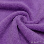 ФЛИС Полартек 390гм фиолетовый (100%полиэстер)150см Китай