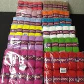 Пряжа vita cotton / coco -60 руб более 10 цветов