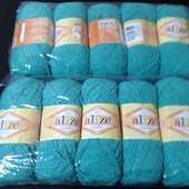 Пряжа Alize Softy Турция 1 моток- 55руб (5шт) 12цветов